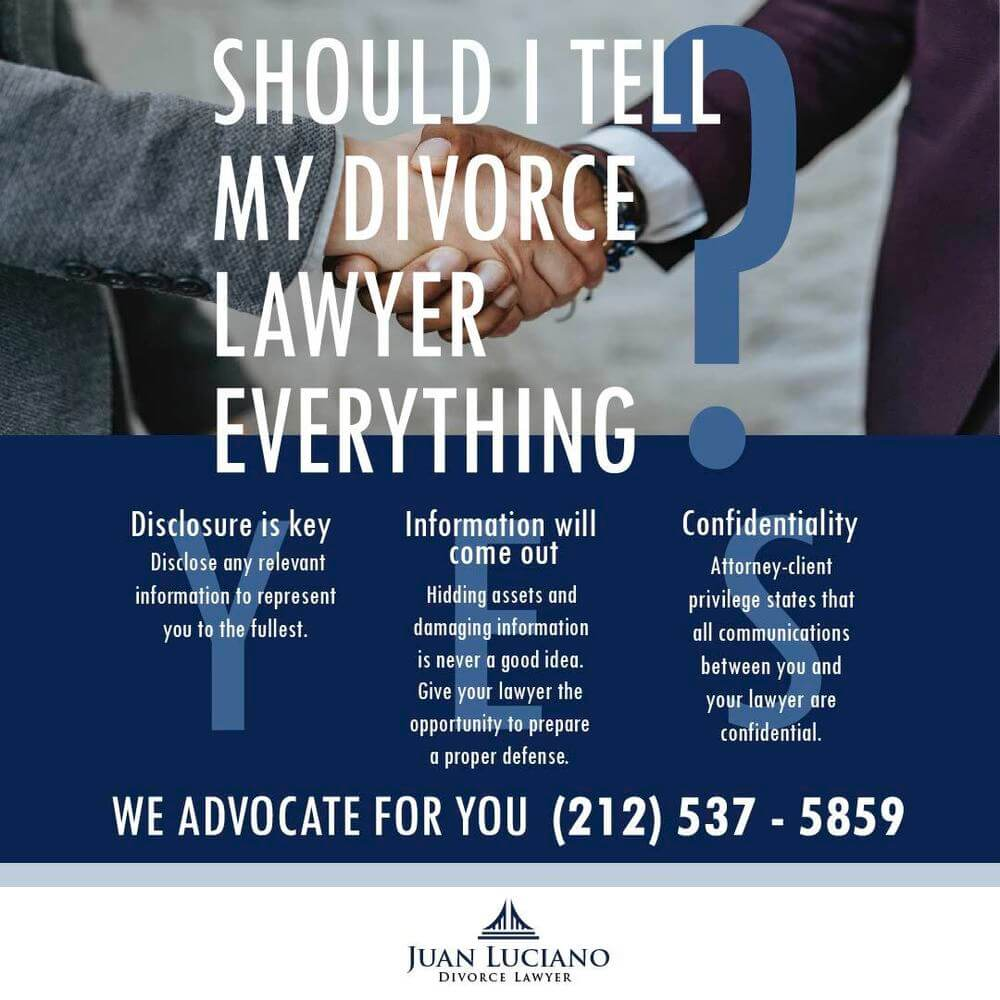 things to discuss with your divorce lawyer